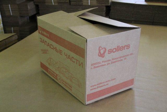Готовые картонные коробки